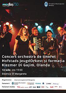 Concert de muzică klezmer la Biserica Sfânta Margareta