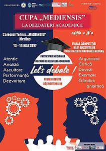 "Cupa ""Mediensis"" la dezbateri academice"