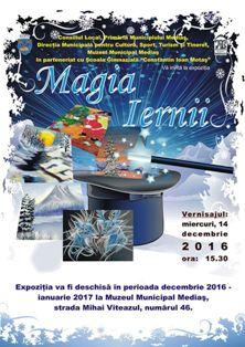 """Expoziţie temporară: """"MAGIA IERNII"""" – ediția a IV-a"""