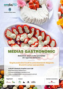 "Invitație la ""Mediaș Gastronomic"""