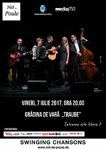 Nid de Poule în concert la Mediaș